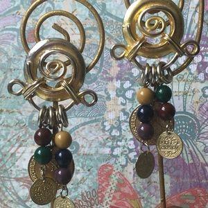 VINTAGE MONET Boho Earrings